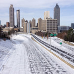 Snow Paralyzes Atlanta
